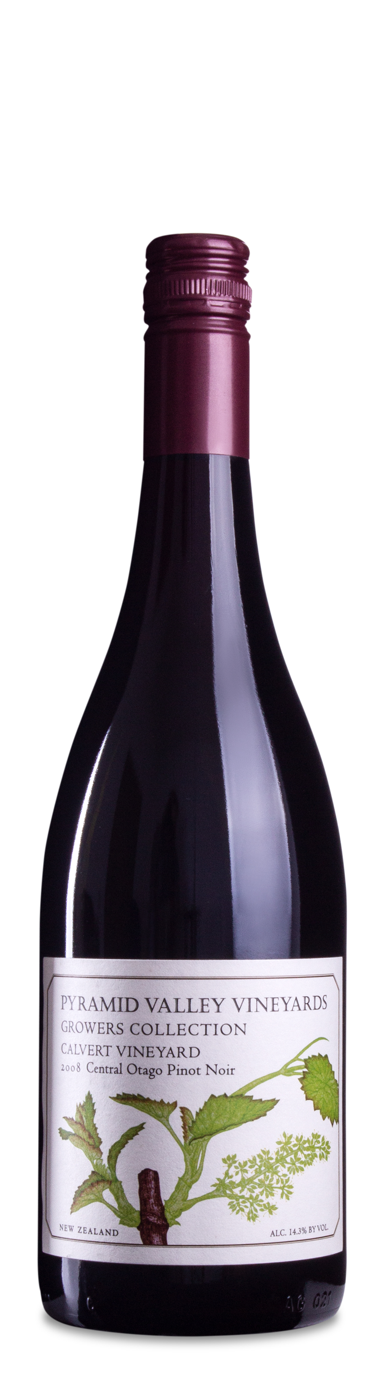 2008 Pyramid Valley Vineyard Calvert Vineyard Pinot Noir